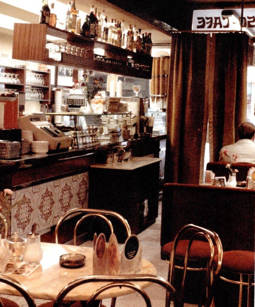 1985 - Das Eiscafe erwacht neu