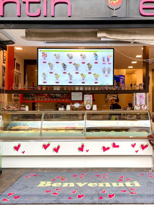 Eiscafe Santin in Stuttgart Mitte
