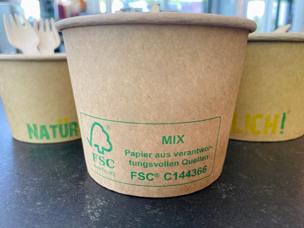 fsc zertifizierung für papierbecher